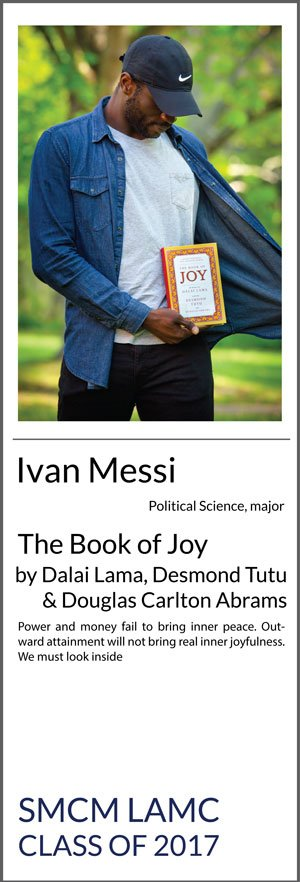 Ivan Messi Political science The Book of Joy Power and money fail to bring inner peace. Outward attainment will not bring real inner joyfulness. We must look inside