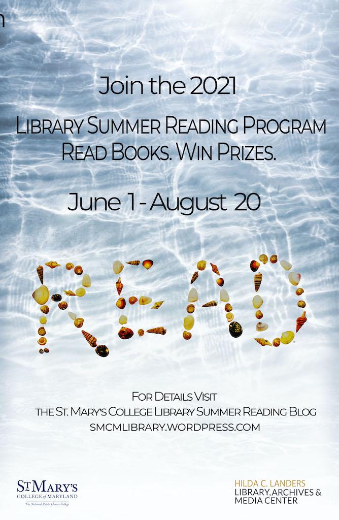 Summer Reading 2021 Poster